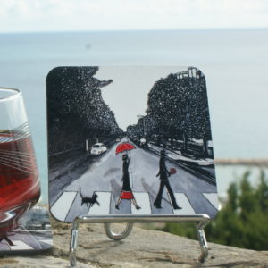 Abbey Road Sous Verre