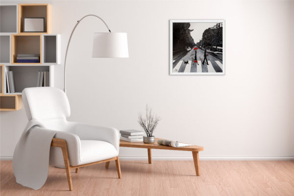 Fauteuil Abbey Road blanc
