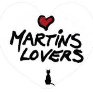 I Love Martins Lovers Magnet Coeur