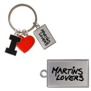 porte clés I Love martins Lovers