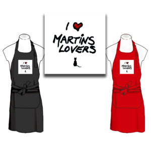 Tablier I Love Martins Lovers